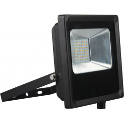 Projecteur LED IP65 1700lm 20W 3000K Noir