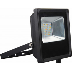 Projecteur LED IP65 2100lm 30W 3000K Noir